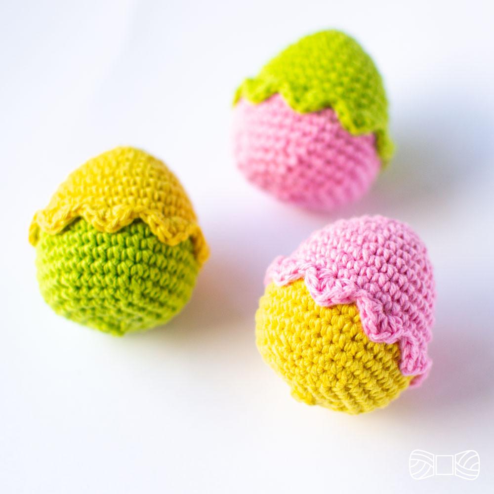 free crochet easter egg pattern