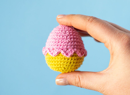 EASTER EGG | Free crochet pattern