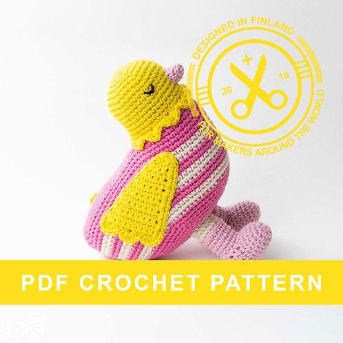 GUNVOR | Crochet chicken PDF pattern