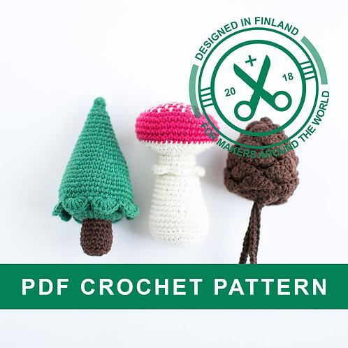 NATURLIGT | Crochet Christmas PDF pattern