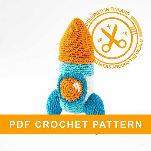 Rocket | amigurumi crochet PDF pattern
