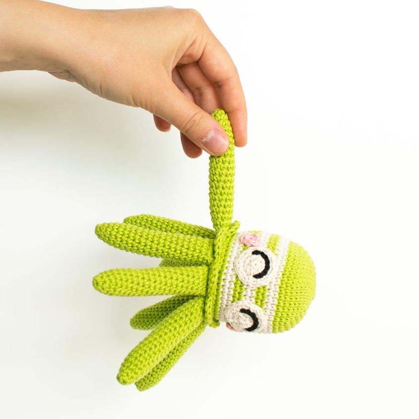 Crochet amigurumi squid patter