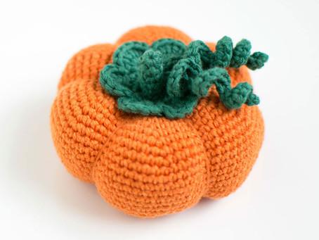 Pumpkin | Free crochet pattern | Pumpa | Gratis virkmönster