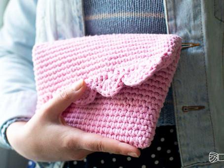 CROCHET CLUTCH - Free crochet pattern