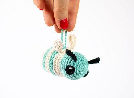 Amigurumi bee | Free crochet pattern