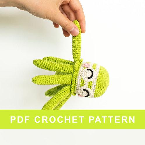 ALFONS | Crochet octopus PDF pattern