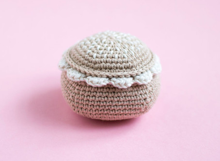 Crochet the perfect semla - FREE PATTERN
