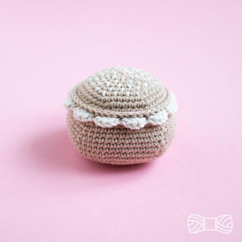 Crochet semla pattern