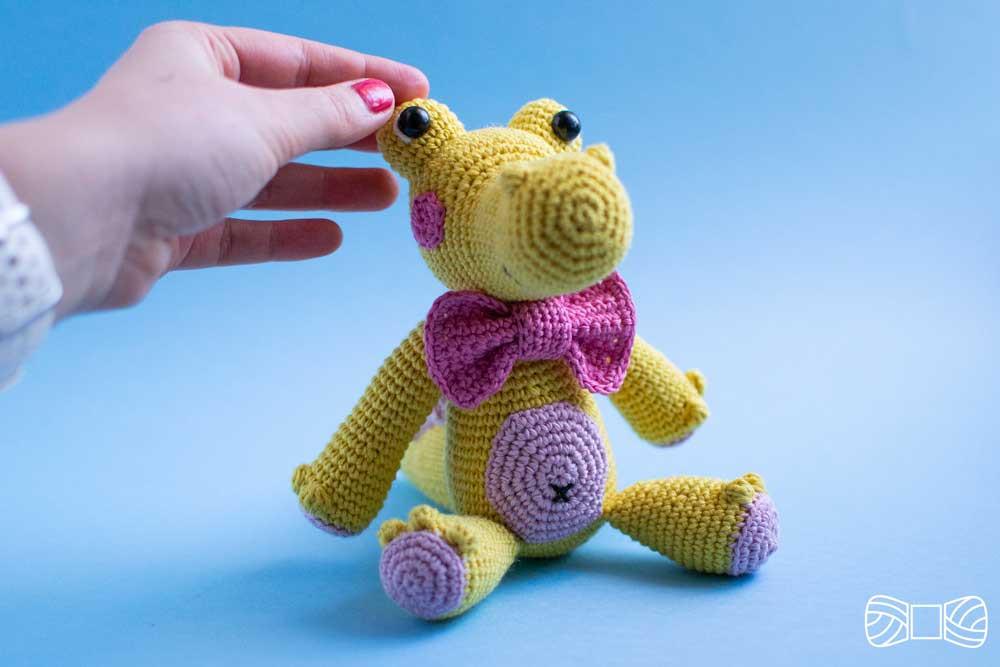crochet crocodile pattern