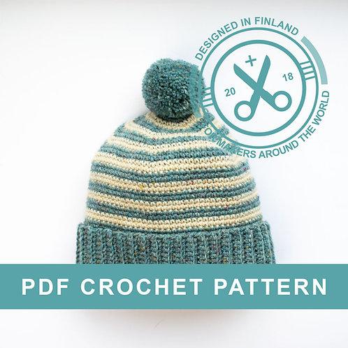 LARKE | Crochet beanie PDF pattern