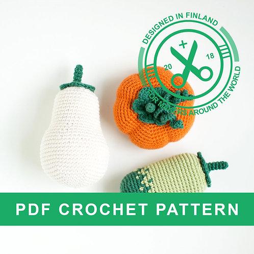 PUMPKINS | Crochet halloween PDF pattern