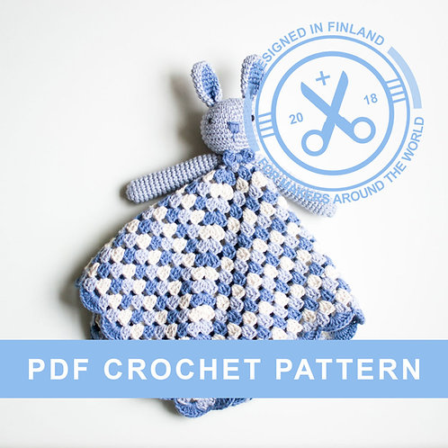 POLLY | Crochet bunny PDF pattern