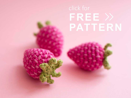 STRAWBERRY | Free crochet pattern
