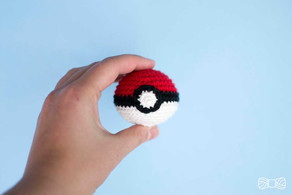 POKEMON BOLL | Free crochet pattern