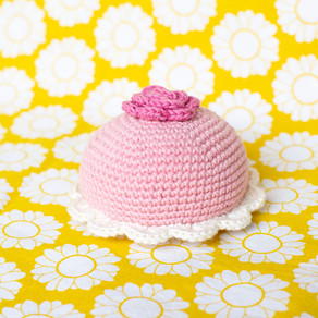 Princess cake   Free crochet pattern   Prinsesstårta   Gratis virkmönster