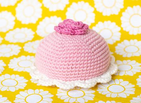 Princess cake | Free crochet pattern | Prinsesstårta | Gratis virkmönster