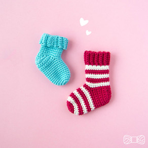 Christmas stocking | Free crochet pattern | Julstrumpa | Gratis virkmönster