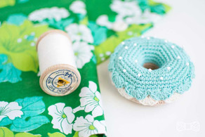 3 ways to use crocheted donuts