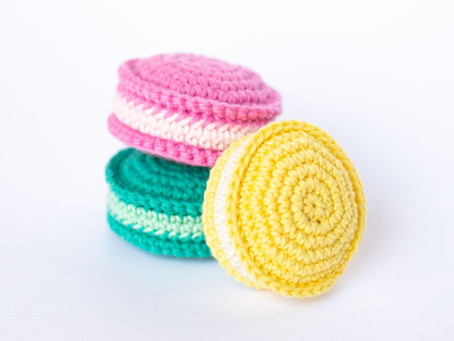 MACARONS | Free crochet pattern