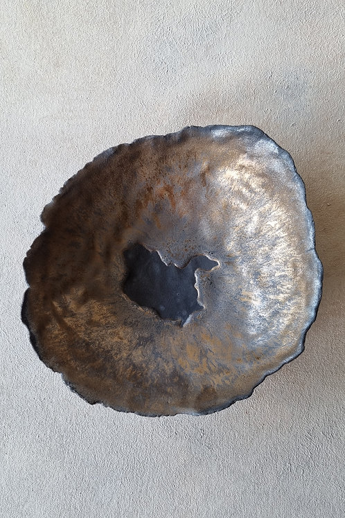 Big bronze bowl