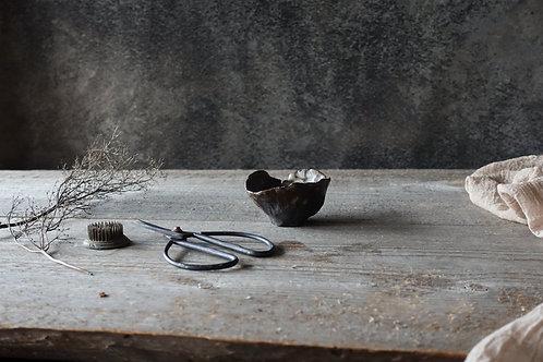 Brown small rustic bowl