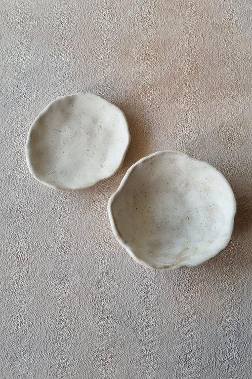 2 pcs small ceramics
