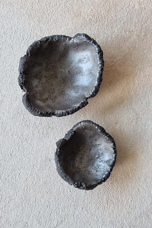 2 pcs crater small bowl