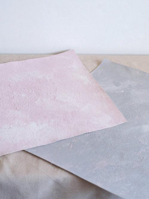 Pink/grey set XS