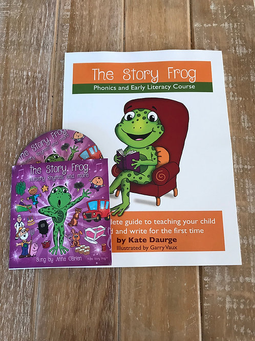Story Frog CD and Book Bundle