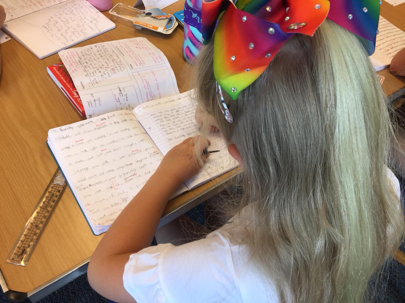 SUMMER WRITING CLASS ONLINE - YRS 2-6