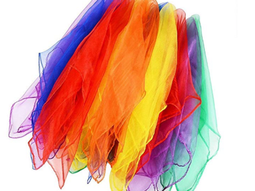 Sensory Scarves Pack of 12