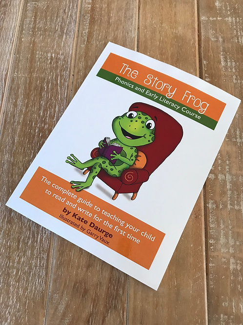 The Story Frog Phonics and Early Literacy Book