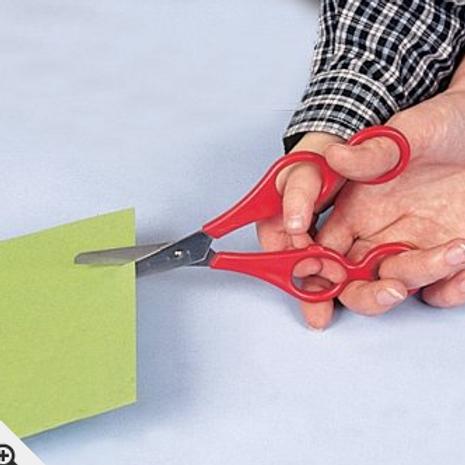 Dual Control children's scissors
