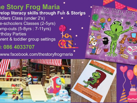 My Life as a Story Frog Teacher