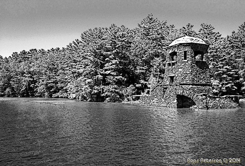 The Watch Tower-BW