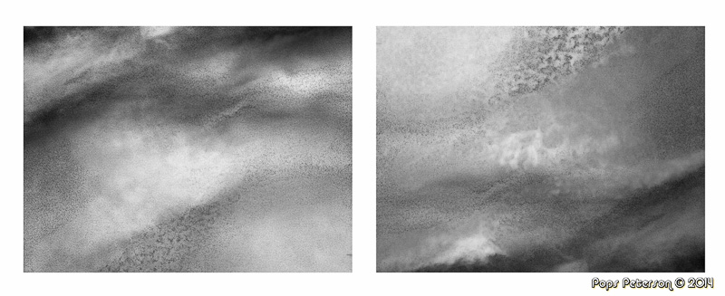 Clouds of Venus and Mars-bw