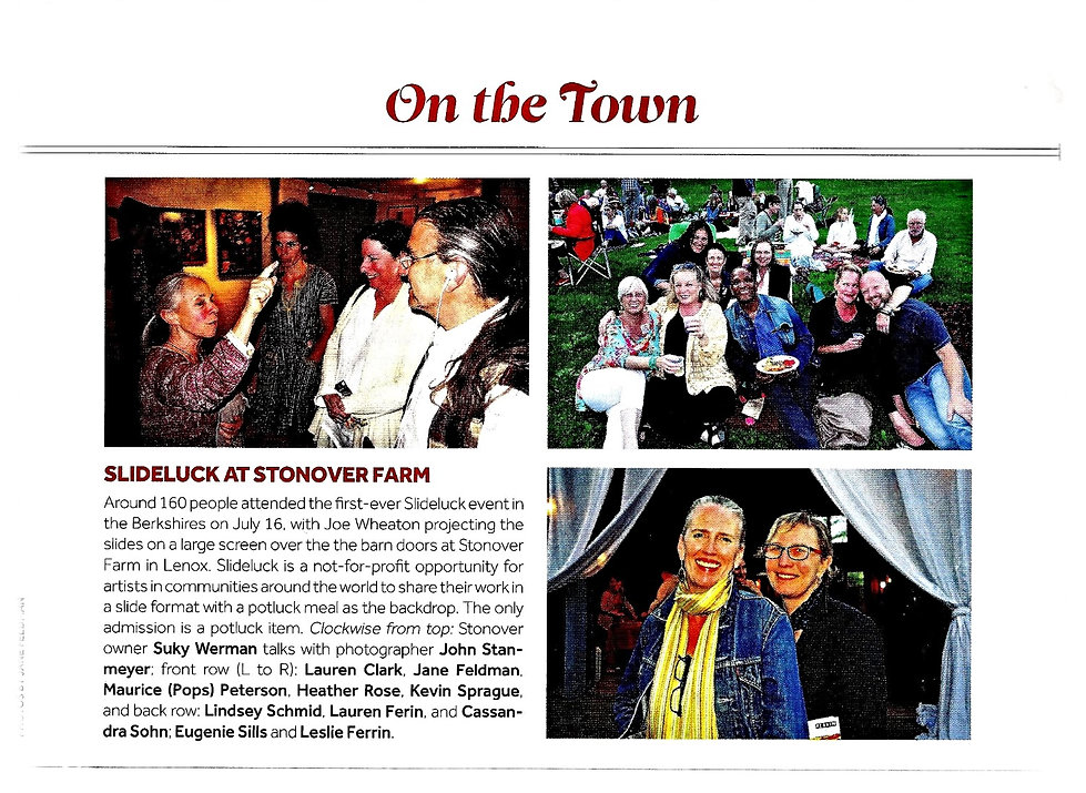 Berkshire Magazine - Slideluck