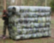 Uwall 1.8mH Mobile Laser Tag Skirmish Ac