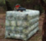 Uwall 1.2mH Mobile Laser Tag Skirmish Ac