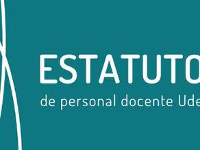 Estatuto del Personal Docente