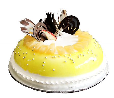 Pineapple Vanilla Fantasy Cake