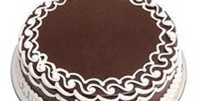 Chocolate Cream Vanilla Cake