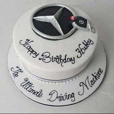 Customized Benz Designer Cake