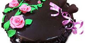 Gooey Chocolate Round Cake
