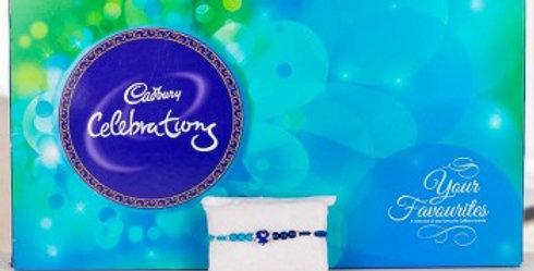 Big Celebrations Box and Single Rakhi Combo
