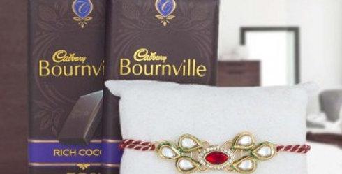 Double Bournevilla and Single Rakhi Combo