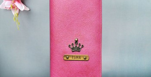 Customized Name Long Wallet