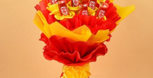 The Kitkat Red Bouquet