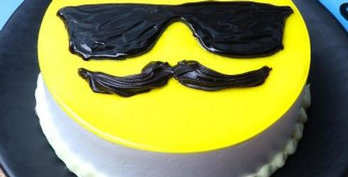 Dad Emoji Cake
