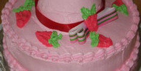 Scrumptiously Strawberrylicious Cake
